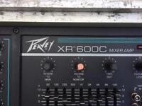 Peavey XR 600C PA System