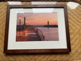 Picture Frame of Whitby Harbour