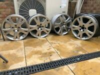 "Volvo Orestes 17"" alloy wheels x4"