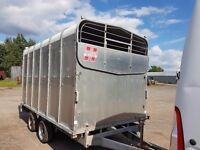 Hudson/ Ifor Williams DP120 livestock trailer