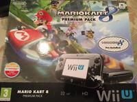 Nintendo Wii U 32gb Premium Console with Mario Kart