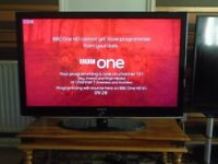 SAMSUNG 46inch LCD TV FULL HD,USB PORT,FREEVIEW,FREE DELIVERY IN CENTRAL GLASGOW