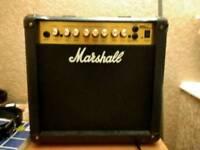 Marshall MG15DFX guitar amplifier