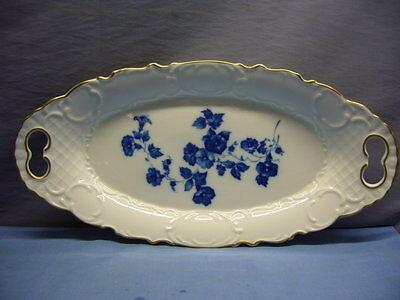 schöne Platte Gerold Porzellan Tettau Bavaria Servierplatte Schale