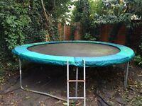 12 foot trampoline - free
