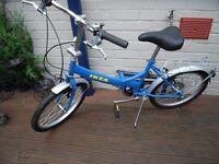 Foling shopper bike