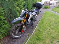 Keeway tx 125 for sale £1300 ono