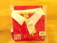 Brand New Welsh Rugby World Cup 2015 Shirt.