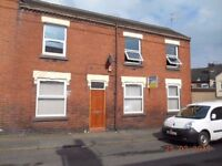 **LET BY** 2 BEDROOM END TERRACE-EVANS STREET-BURSLEM-LOW RENT-NO DEPOSIT-DSS ACCEPTED-PETS WELCOME