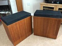 Vintage Sonab OA-4 Type 2 speakers and Rank Domus BD2000 turntable