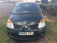 Renault Modus 2005, Low mileage, One previous owner.