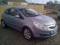 Vauxhall Corsa Diesel, FULL MOT, ( credit, debit cards accepted)