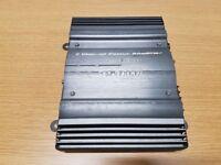 Car amp Sub Zero amplifier