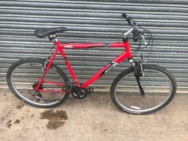 "Raleigh Mantaray Mountain Bike. Serviced, 22"" Frame, Free Lock, Lights, Delivery"