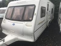 Bailey senator Wyoming 2006 twin axle fixed bed touring caravan