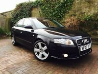 AUDI A4 2.0 TDI 170 BHP SLINE 2007 FACELIFT SHAPE STUNNING CONDITION