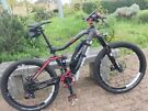 Haibike sDuro RX 27.5 full suspension not giant specialized cube Scott carrera