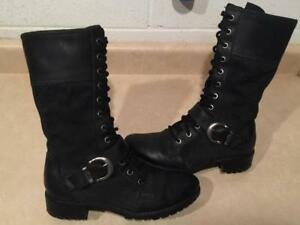 Women's Size 7.5 M Timberland Leather Boots