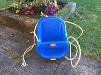 Little Tikes bucket swing seat