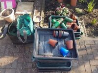 Misc Collection of Planting Trays, Bags. Free to Collect