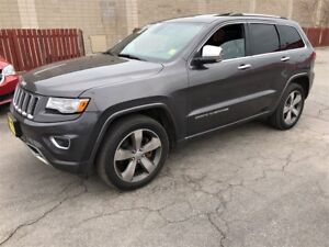 2014 Jeep Grand Cherokee Overland, Auto, Navigation, Leather