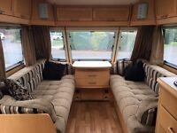 Elddis Odyssey 634 Twin Axle Caravan 2010 VGC