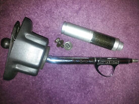 VW short quickshift trigger shifter and handbrake cover