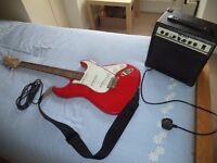 Crafter Cruiser Guitar & Amplifier
