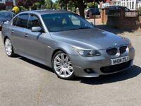 2008 BMW 5 Series 3.0 530d M Sport e60 4dr Saloon Diesel Automatic Facelift LCI FSH