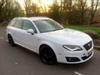 2013 Seat Exeo sport Tech cr 2.0 Tdi 140 bhp 6 speed estate # Sat Nav # leather #p /sensors # xenons