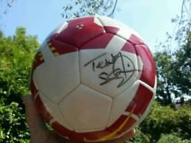 NIKE FOOTBALL SIGNED BY 'TEDDY SHERINGHAM'