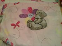 me to you bear curtains and quilt cover set