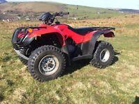 Honda TRX 250 TM 2012