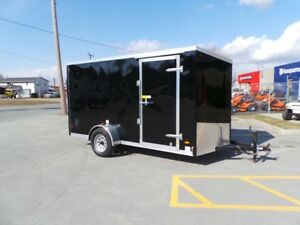 2018 Haulin HLAFTX612SA -  ENCLOSED TRAILER 6x12 Ramp Door