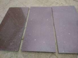 Quartz granite sparkle tiles