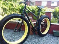 Mammoth Avigo Fat Bike Single Speed,Hydraulic disc brakes,