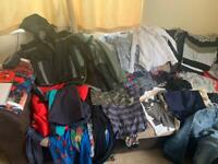 Bundle of age 7-8 boys clothes (works out less that a pound for each item)