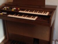 Electric Organ Yamaha A55 with stool and music