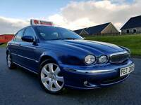 Jaguar X Type 2.2d 155bhp SE, Only 79000 MILES! SAT-NAV! Electric Heated Leather! Lovely Example!