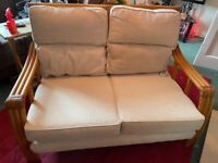 Lovely Bamboo Two Seater