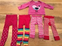 0 - 12 Months Baby Girl JoJo Bundle - 5 items