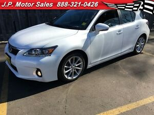 2012 Lexus CT 200h Hybrid, Automatic, Leather, Sunroof, Heated S