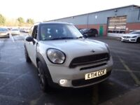 MINI COUNTRYMAN 2.0 Cooper S D [Chili Pack, Electric Pan Roof] 5dr Auto (white) 2014