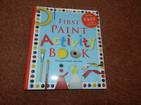 First Paint Activity Book