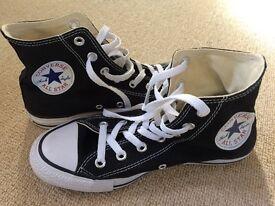 Brand New Black Converse UK size 5