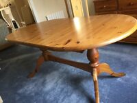 Dining Table and matching Sideboard - Honeyed Pine - Great condition