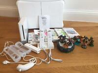 Wii console and wii balance board bundle