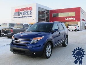 2015 Ford Explorer Limited 7 Passenger 4x4, 3.5L V6, 24,556 KMs