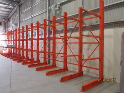 Cantilever Racking Starter Bay 3600mm High  3 Levels per Upright