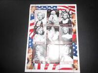Marilyn Monroe stamps Republique Democratique du Congo collection